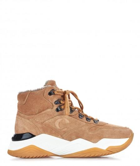 """Crime London Chunky sneaker """"Instinct"""" light brown"""