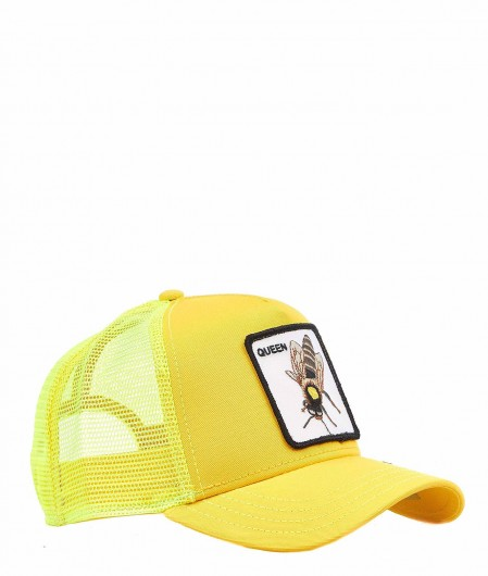 "Goorin Bros Baseball Cap ""Queen"" Gelb"