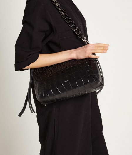 "Profanter Bag ""Sveja"" with chain detail black"