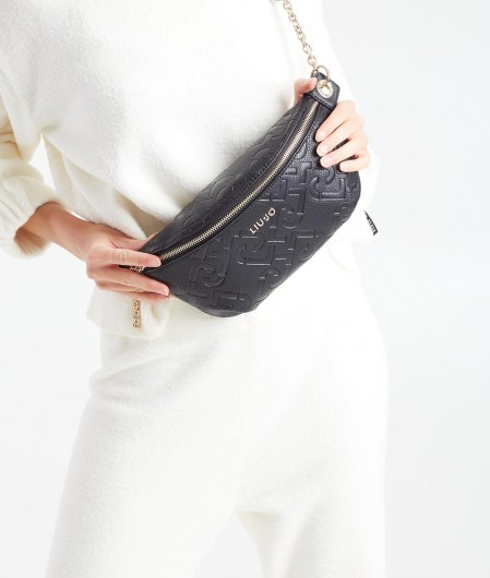 "Liu Jo Belly bag ""Affidabile"" black"