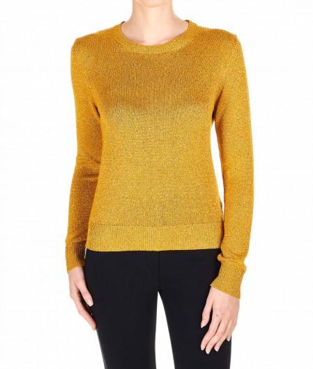 "Department 5 Lurex sweater ""Lopez"" gold"