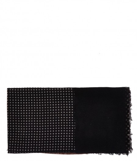 Altea Virgin wool scarf black