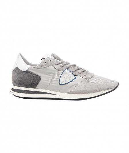 """Philippe Model Sneakers """"TRPX LOW MONDIAL"""" gray"""