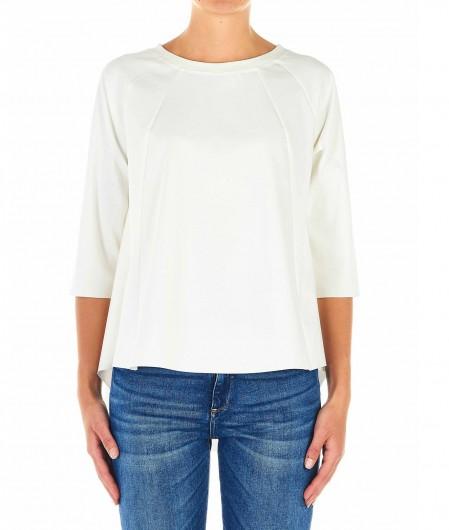 Babel Asymmetrisches Shirt Beige
