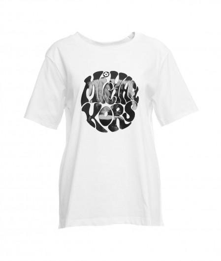 Michael Kors T-shirt with logo print white