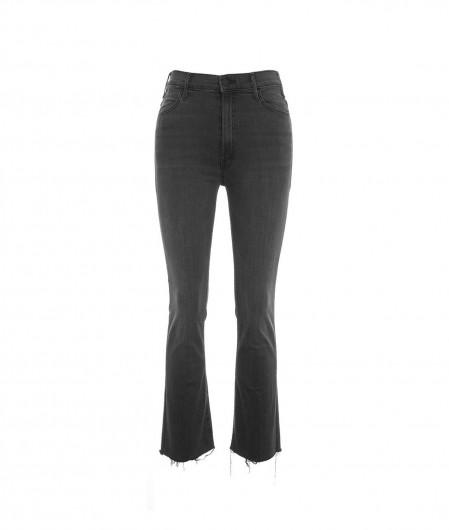 "Mother Jeans ""The Hustler Ankle Fray"" dark gray"