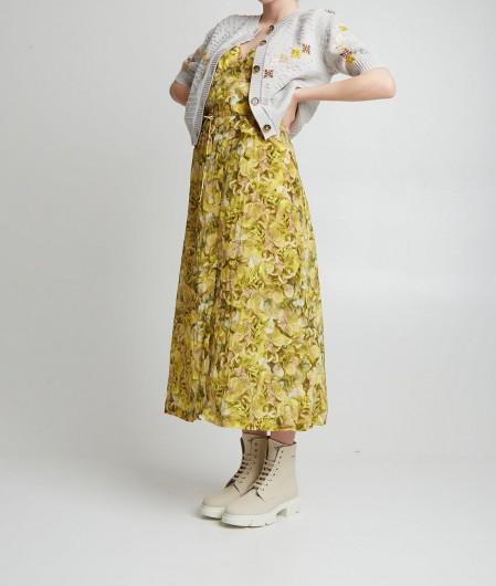 """Baum und Pferdgarten Trägerkleid """"Abiella"""" Gelb"""