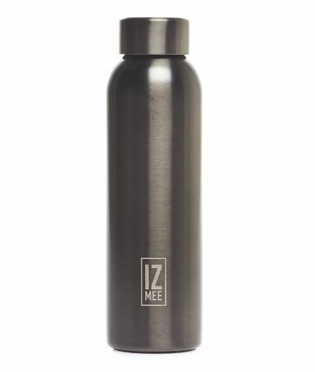 """Izmee Water bottle """"Metal gun"""" gray"""