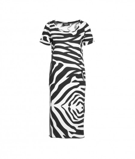 Dsquared2 Dress with animal print black