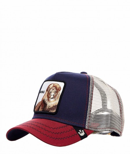 "Goorin Bros Baseball Cap ""King"" blue"