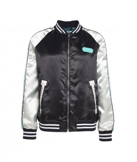 Pharmacy Industry Bomber with embroidered patch black