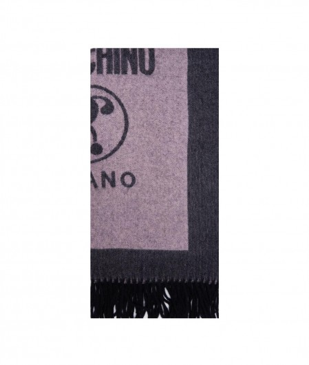 Moschino Scarf in wool multicoloured