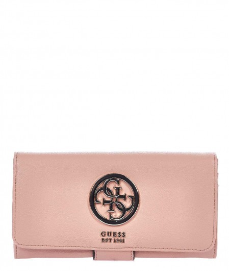 Guess Wallet with logo salmon