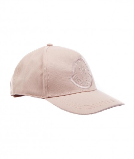 Moncler Baseball cap with logo embroidery rose