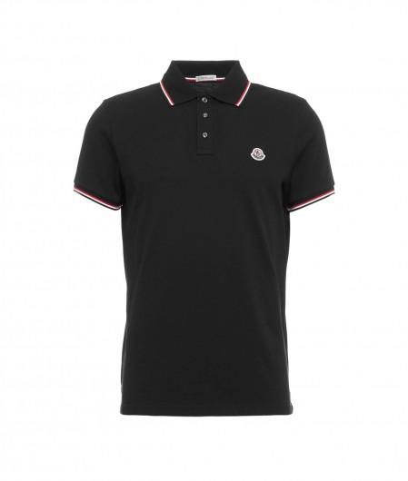 Moncler Polo with logo black