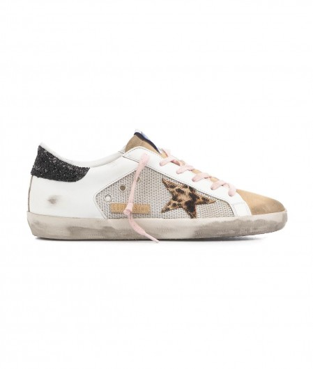 "Golden Goose Sneaker ""Super-Star"" Weiß"
