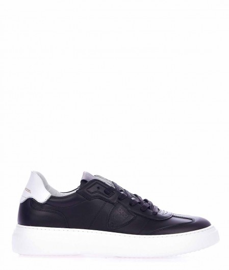 "Philippe Model Sneaker ""Temple S"" Schwarz"