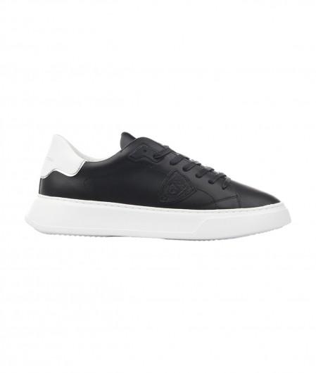 """Philippe Model Sneaker """"TEMPLE LOW"""" Schwarz"""
