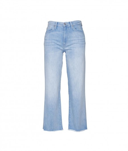 """7 for all mankind Jeans """"Cropped Alexa"""" Hellblau"""
