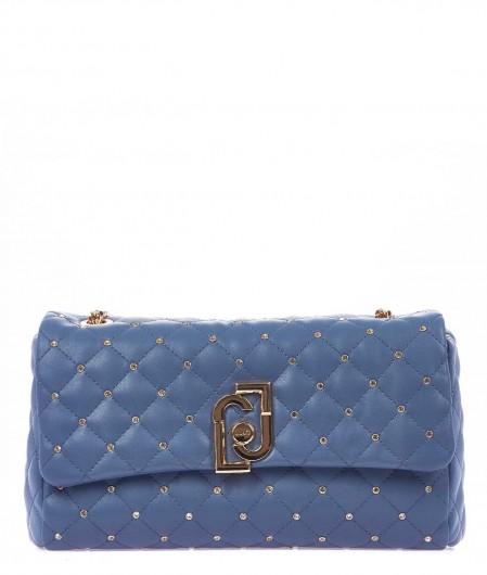 Liu Jo Quilted crossbody bag blue