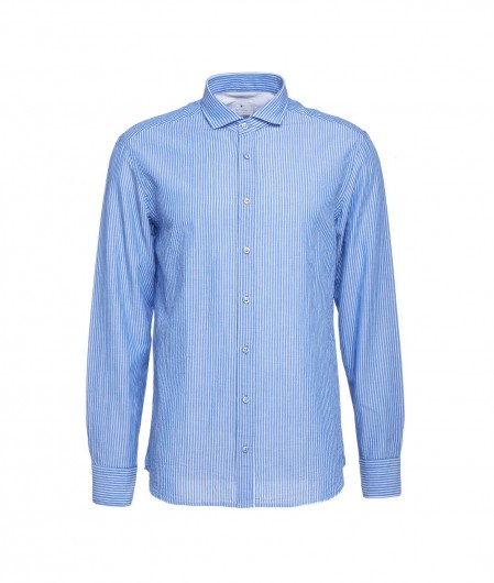 Bastoncino Hemd mit Streifen Blau