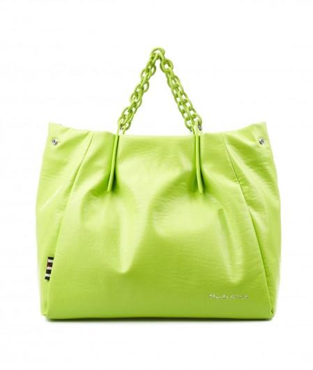 "Manila Grace Crossbody bag ""Jasmin Medium"" green"