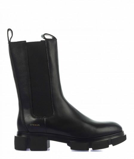 Copenhagen Combat Boots Schwarz