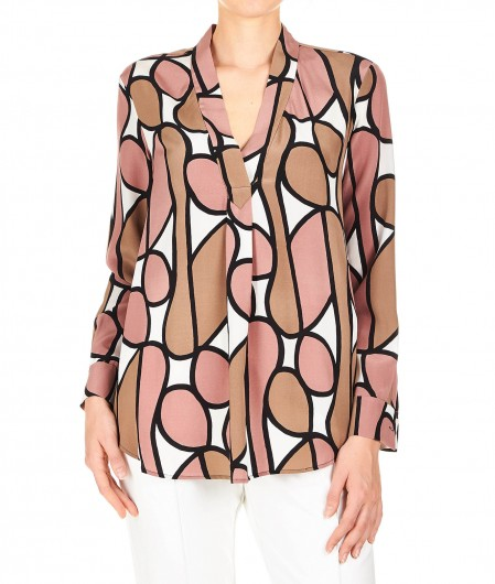 Diane von Furstenberg Silk blouse multicoloured