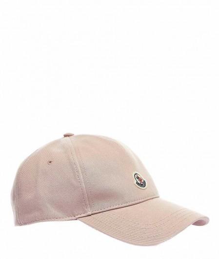 Moncler Baseball cap mit Logo Rosa