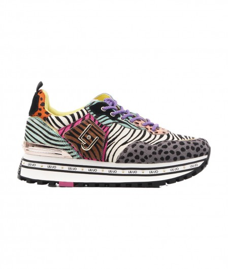 "Liu Jo Sneakers ""Maxi Wonder"" in Pony Hair multicoloured"