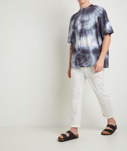 Marcelo Burlon Tie&Dye Over T-Shirt Dunkelblau