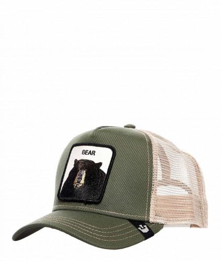 "Goorin Bros Baseball Cap ""Bear"" Grün"