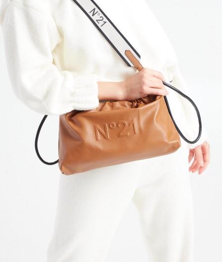 """N°21 Shoulder bag Mini """"Eva"""" brown"""