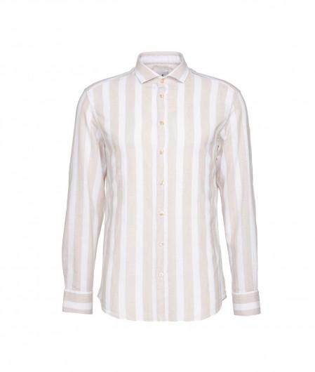 "Bastoncino Striped shirt ""Simo"" beige"