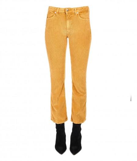 "Dondup Jeans aus Cordsamt ""Amanda"" Hellbraun"