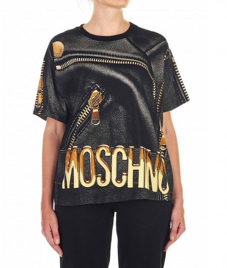 Moschino Printed T-Shirt black
