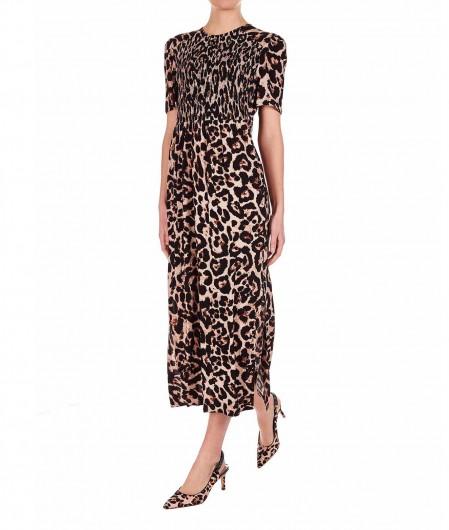 """Baum und Pferdgarten Maxi dress """"Adamaris"""" light brown"""