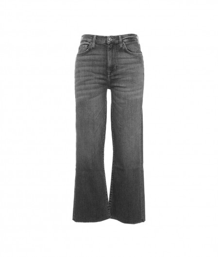 """7 for all mankind Jeans """"Cropped Alexa"""" gray"""