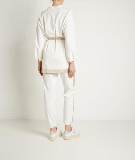 """Vicario Cinque Kimono """"Lacedra"""" white"""