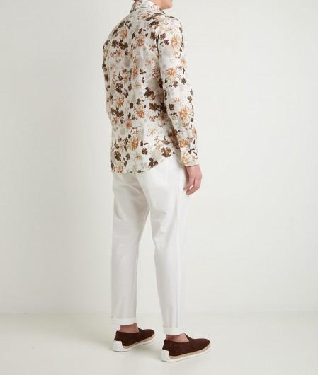 """Bastoncino Shirt """"Simo"""" brown"""