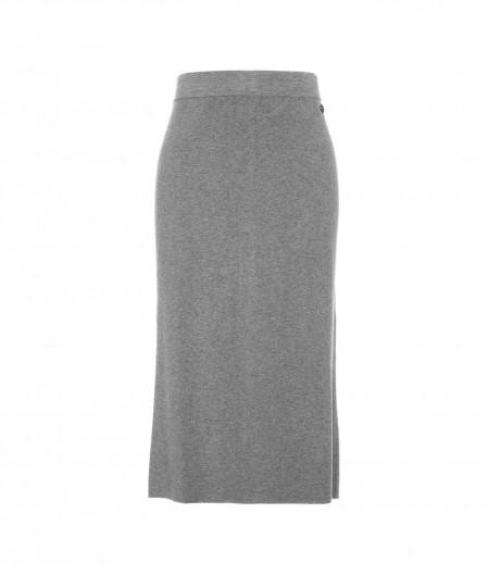 Twin Set Actitude Pencil-Skirt in Strick Grau