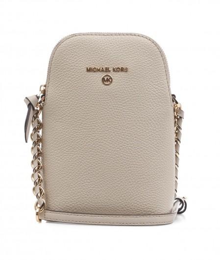 Michael Kors Phone Crossbody Bag light gray