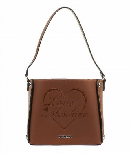 Love Moschino Bucket bag Braun