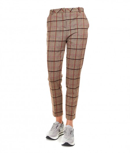"Pinko Checked trousers ""Bella 5"" beige"