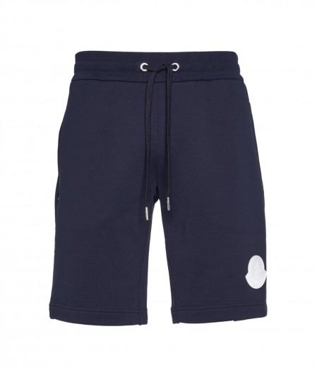 Moncler Shorts mit Logopatch Dunkelblau