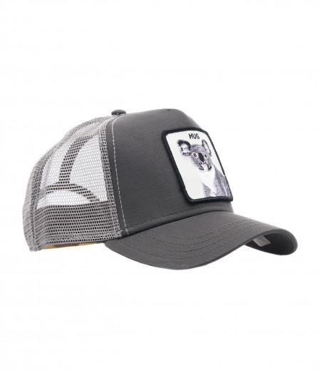 "Goorin Bros Baseball cap ""Hug"" gray"