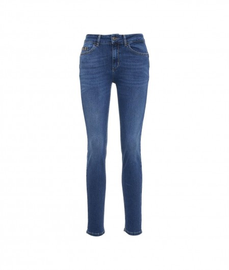 Liu Jo Jeans Jeans mit Strassdetail Blau