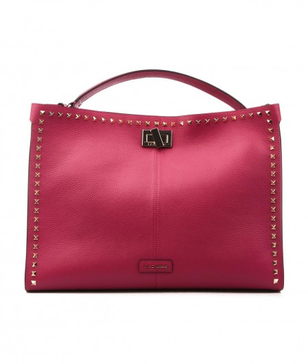 La Carrie Shopper mit Nieten Pink