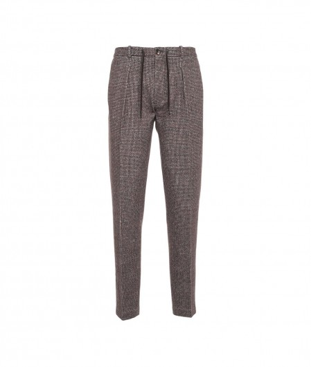 Circolo 1901 Trouser in houndstooth pattern multicoloured