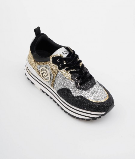 "Liu Jo Sneaker ""Maxi Wonder"" silber"